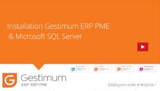 Installer Gestimum ERP PME & Microsoft SQL Server