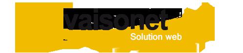 logo de VAISONET, créateur de solutions web intégrées au système informatique de l'entreprise